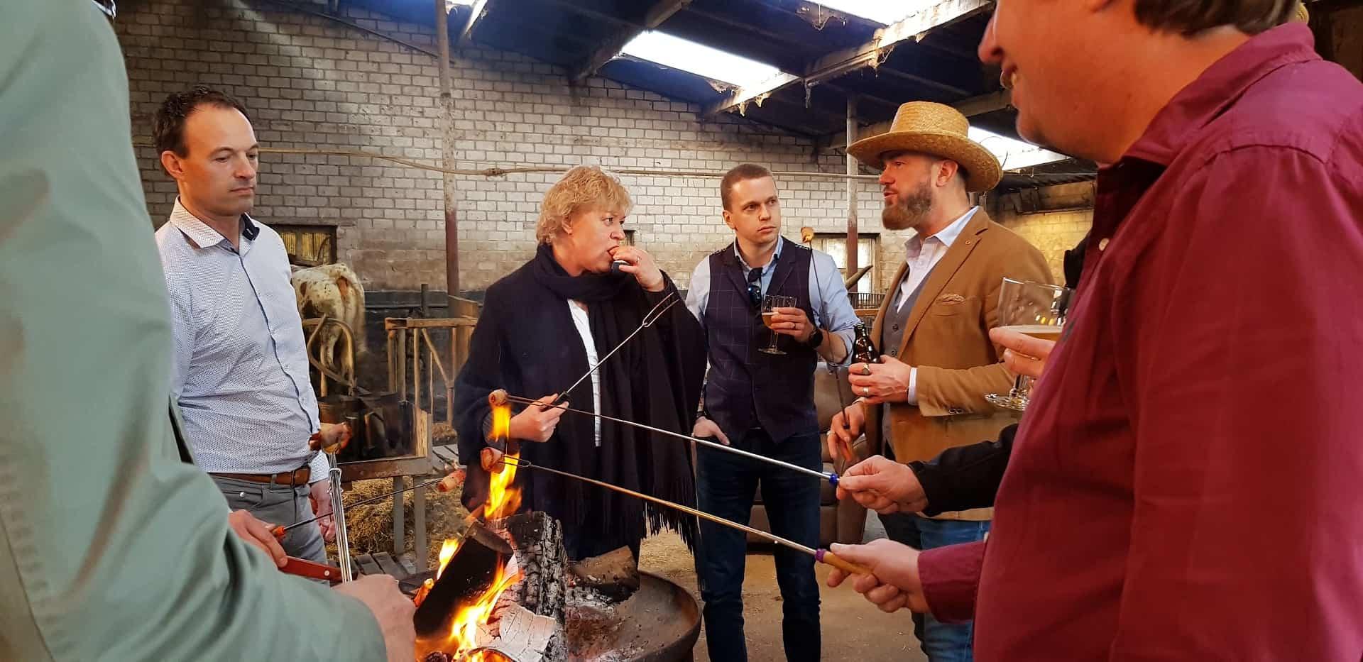 netwerkbijeenkomst de longhorn ranch borrel
